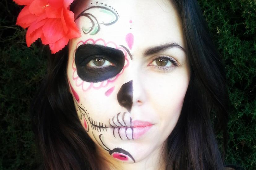 Maquillaje De Calavera Mexicana Paso A Paso