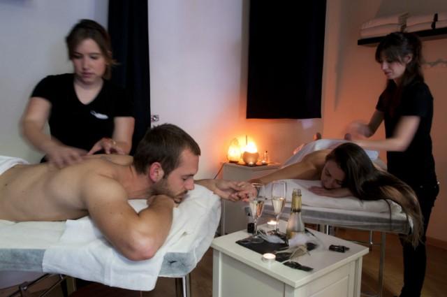 Noche masaje sexo duro