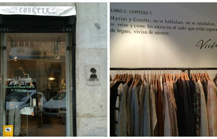 Cosette: una boutique parisina en el centro de Madrid