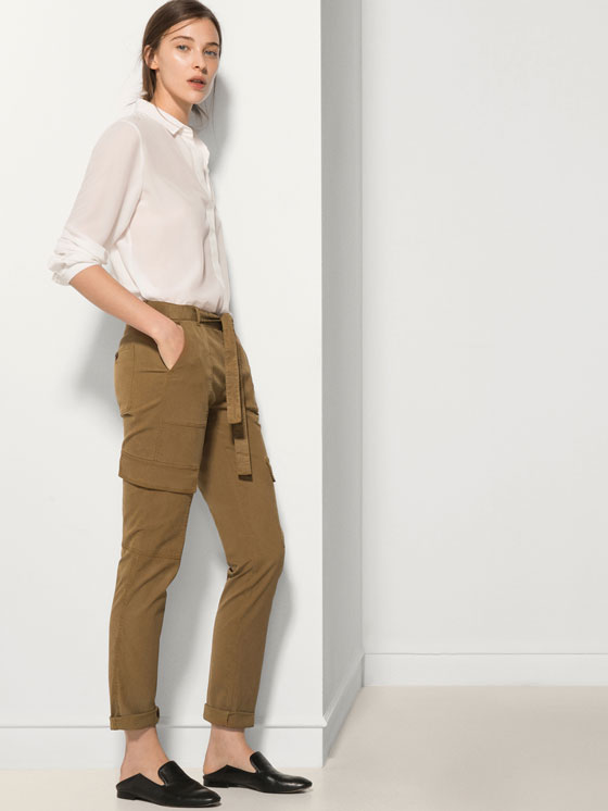 Pantalón cargo Massimo Dutti | Madrid a tu estilo