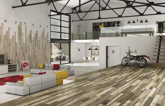 Decora tu casa con madera… de cerámica