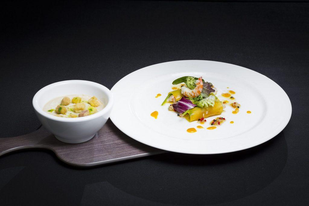 canelones-de-mango-y-langostino_con-vegetales-diversos-y-crema-tibia-de-boletus-y-lascas-de_parmesano-baja