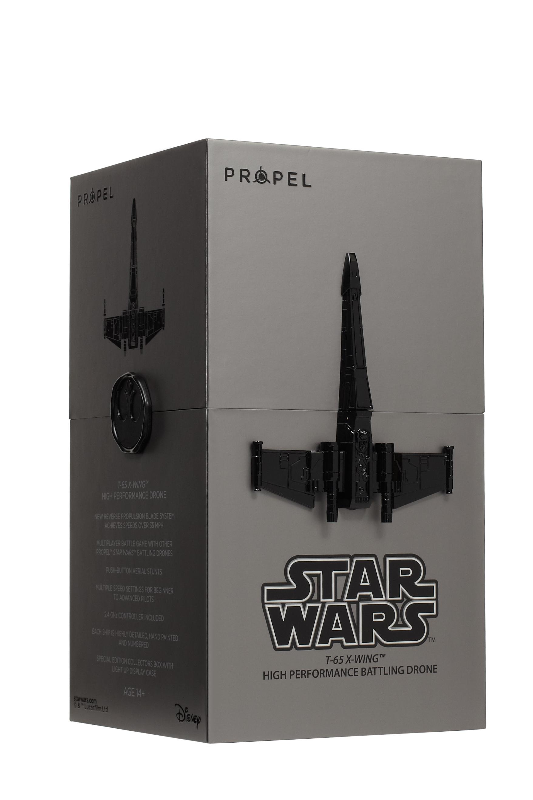 Los drones láser de batalla de Star Wars se presentan en Madrid