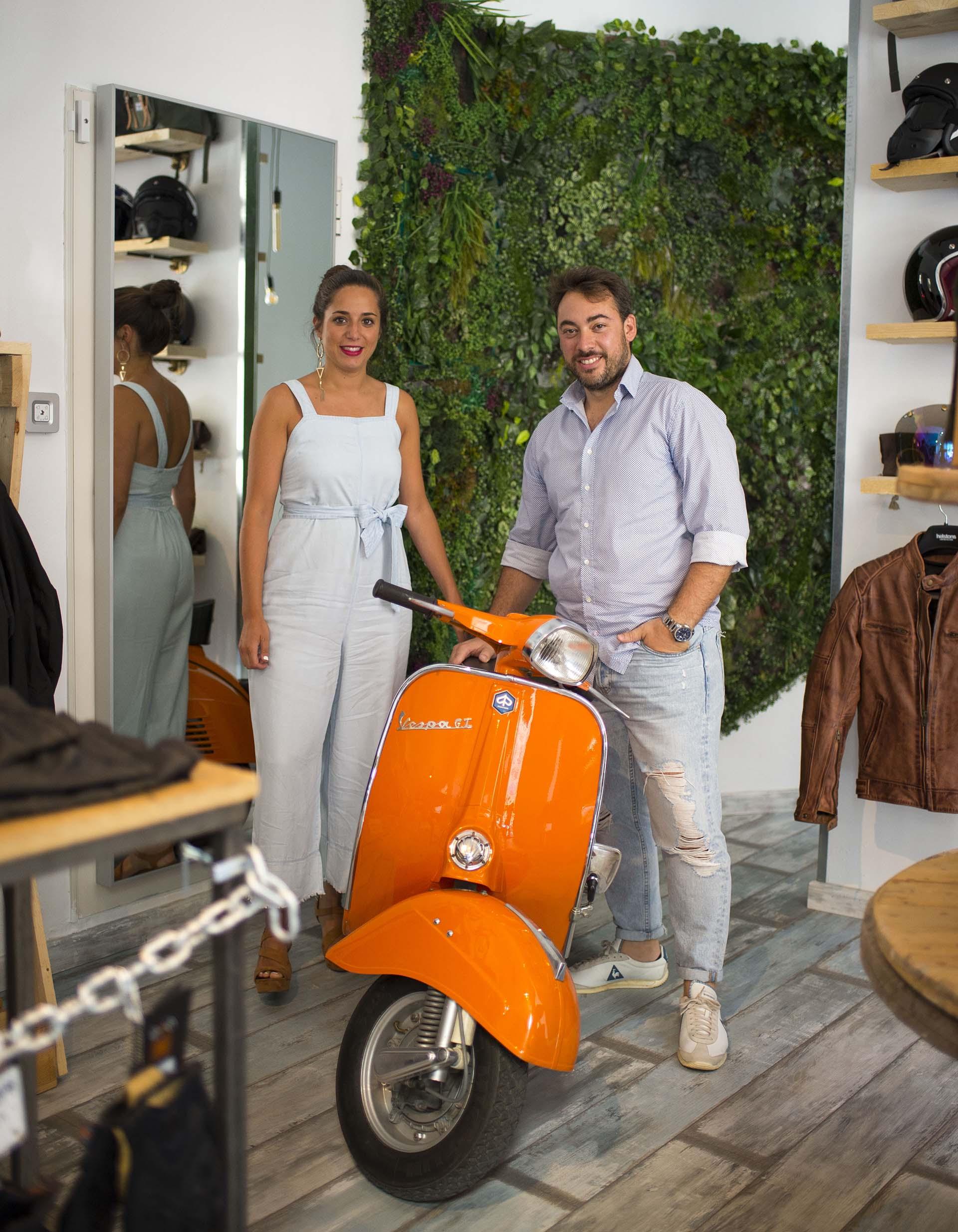 Irons Cafe Racer complementos para moteros en Madrid