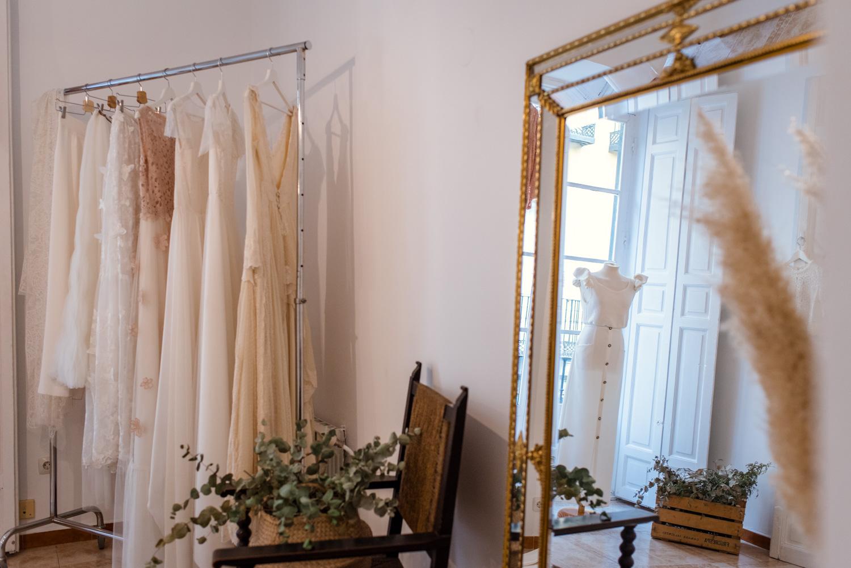 Lamaryé: trajes de novia a medida en Madrid
