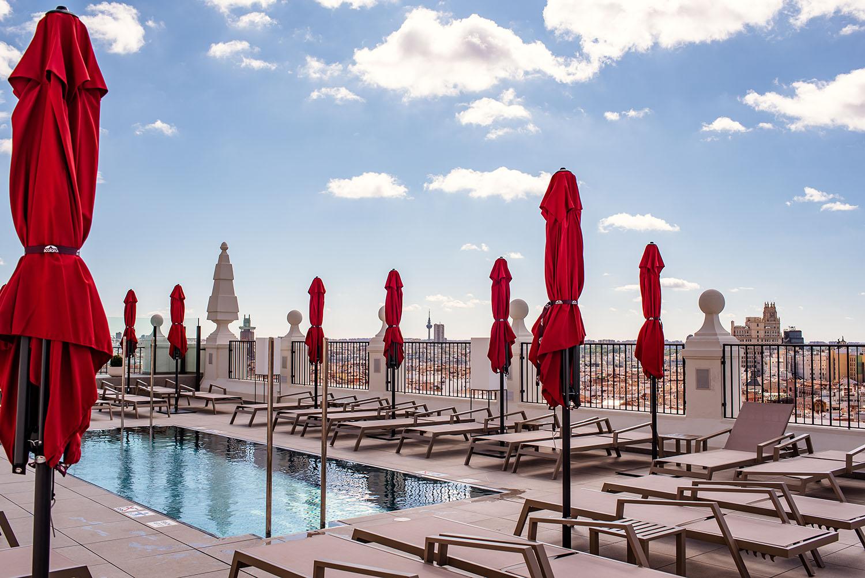De Madrid al cielo Hotel Riu Plaza de España